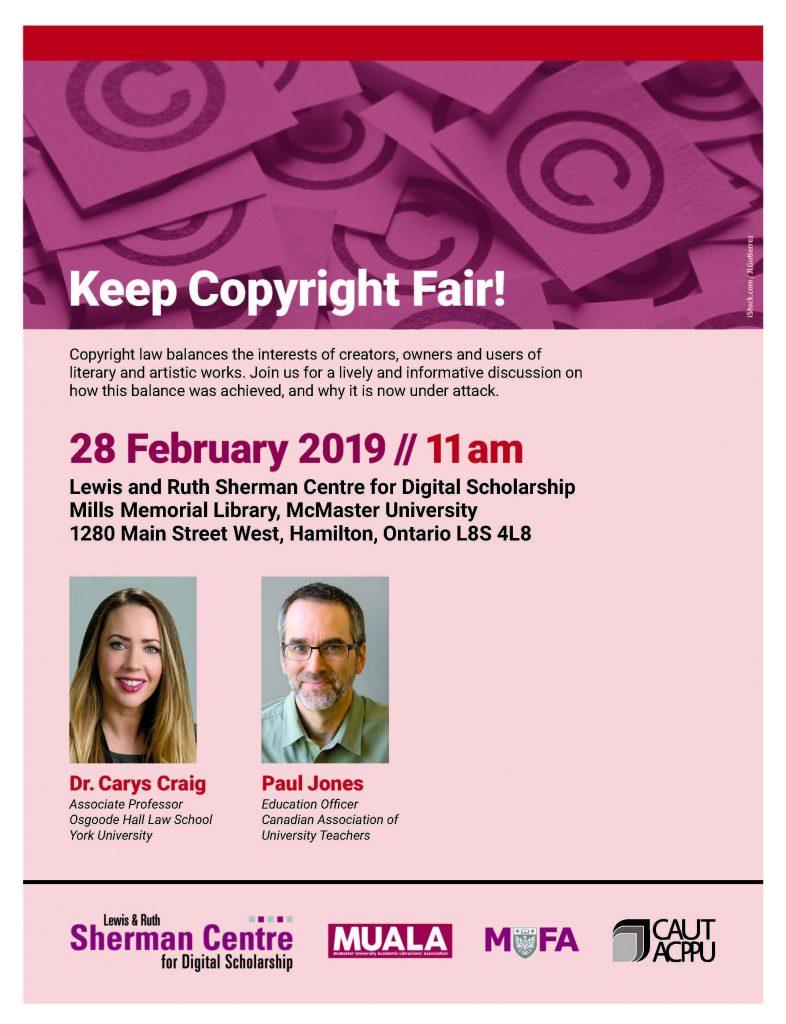 Keep Copyright Fair event